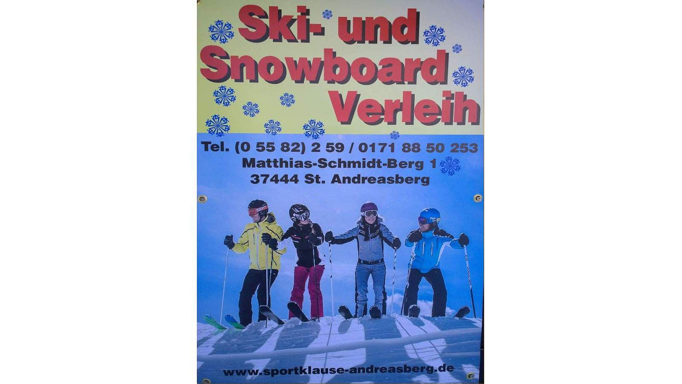 Sportklause im winter